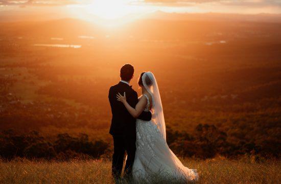 Hampton Estate Wines Wedding at Sunset