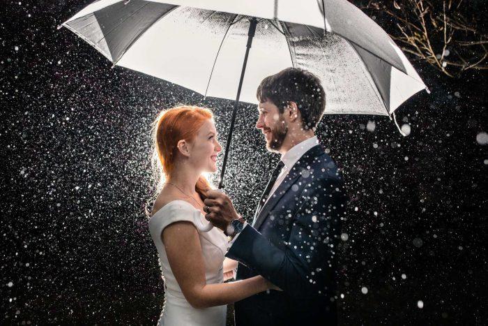 Bundaleer Rainforest Gardens Wedding - Rain Photo