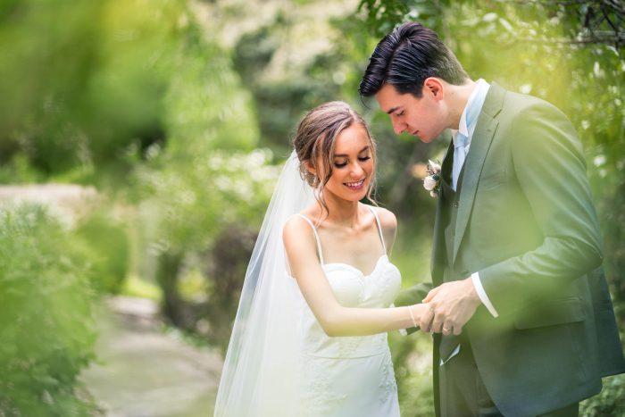 Swain Gardens Wedding Portraits