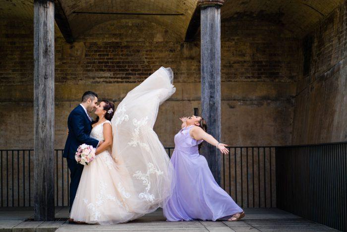 Paddington Reservoir Wedding with Allure Bridals Dress