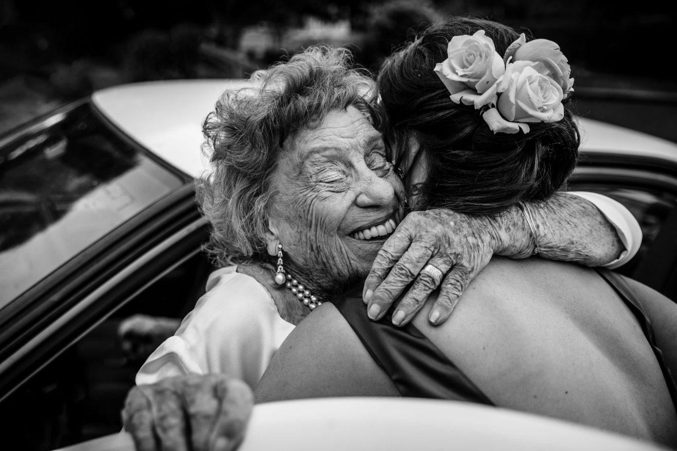 Southern Highlands Wedding Bride and Grandmother