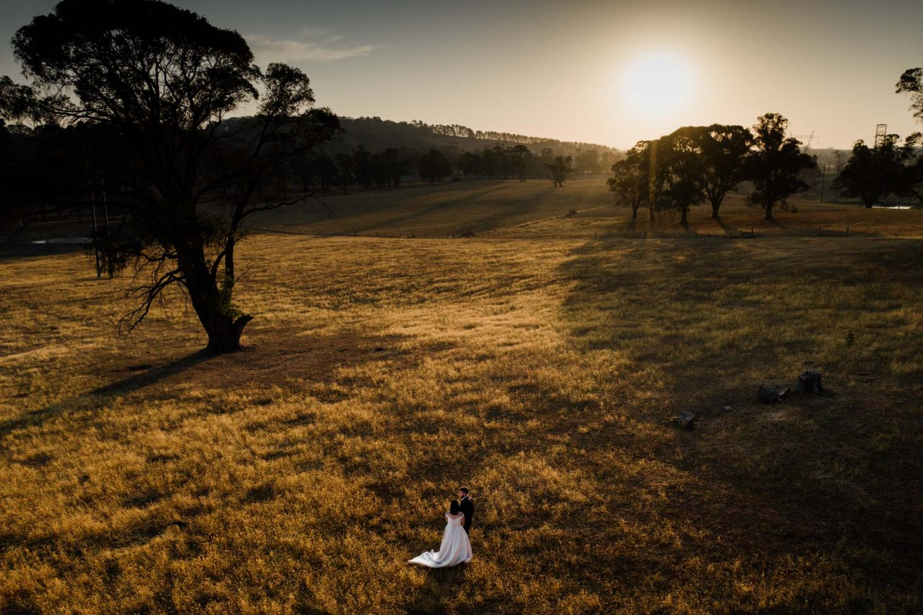 Southern Highlands Drone Wedding Photography