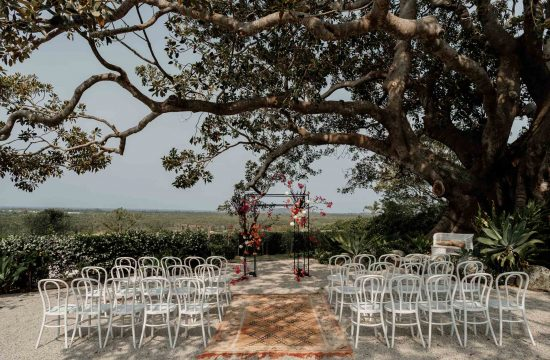 Fig Tree Restaurant Byron Bay Wedding Venue Set Up
