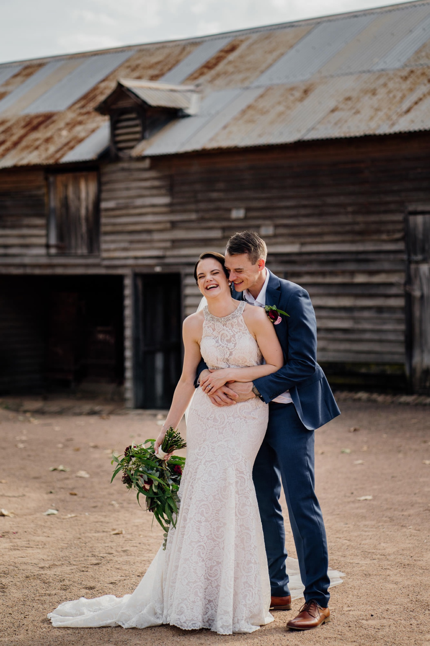 Elopement Bride and Groom