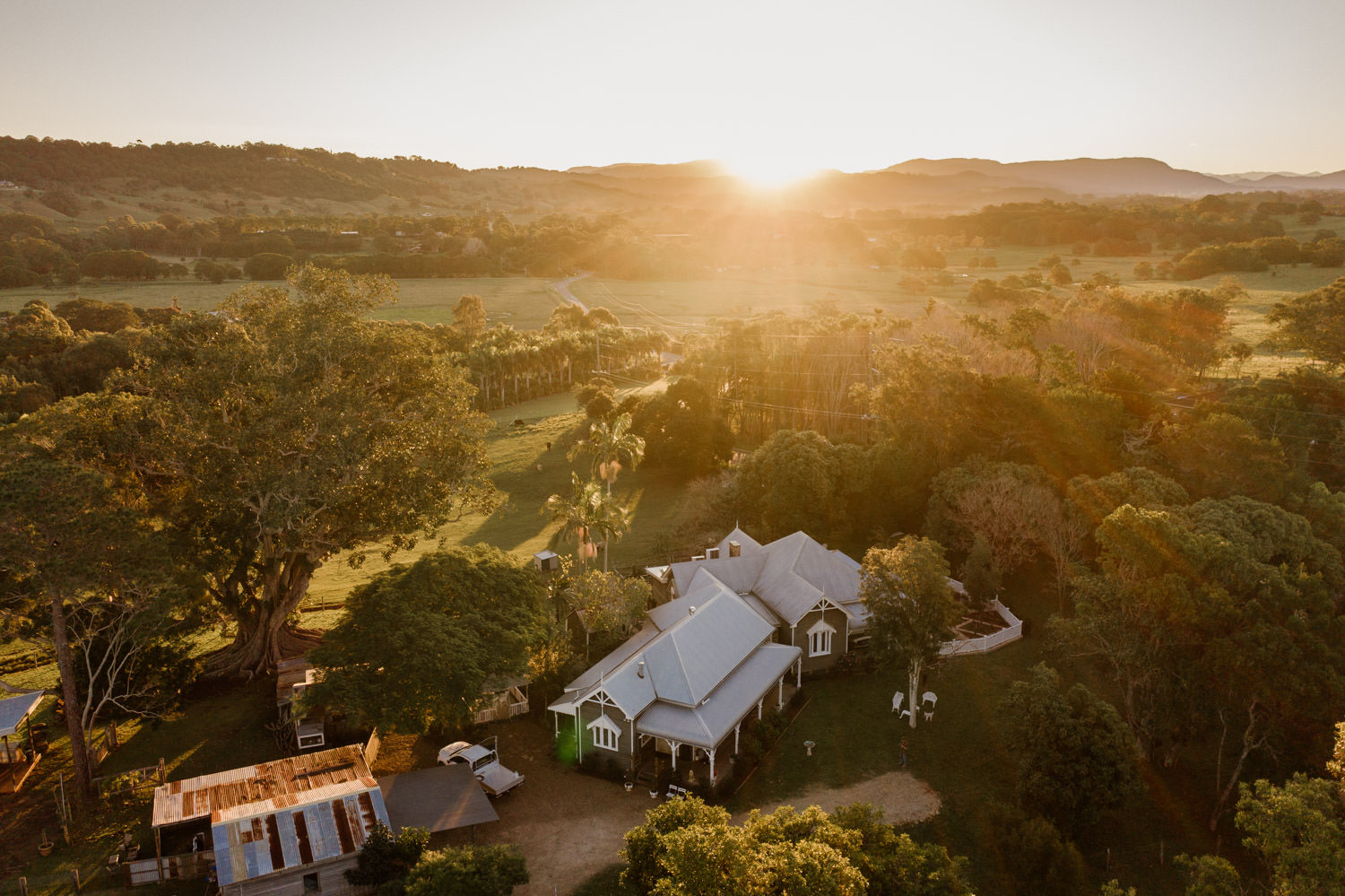 Tooraloo Farm Stay Drone Picture