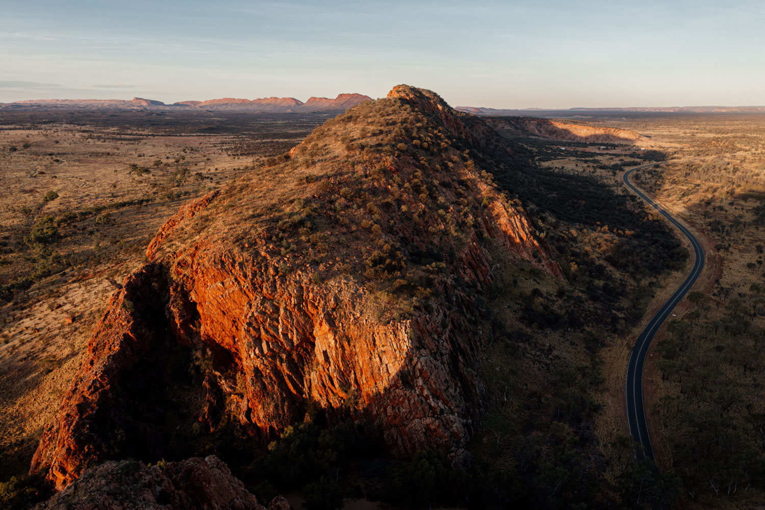 Outback Drone by Sam Wyper Photography
